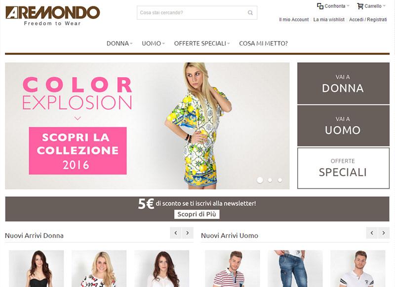 Aremondo E-commerce