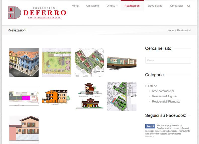 realizzazione sito web per impresa edile e immobiliare