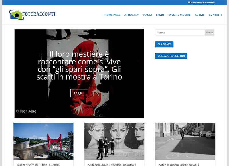 realizzazione blog fotogiornalistico