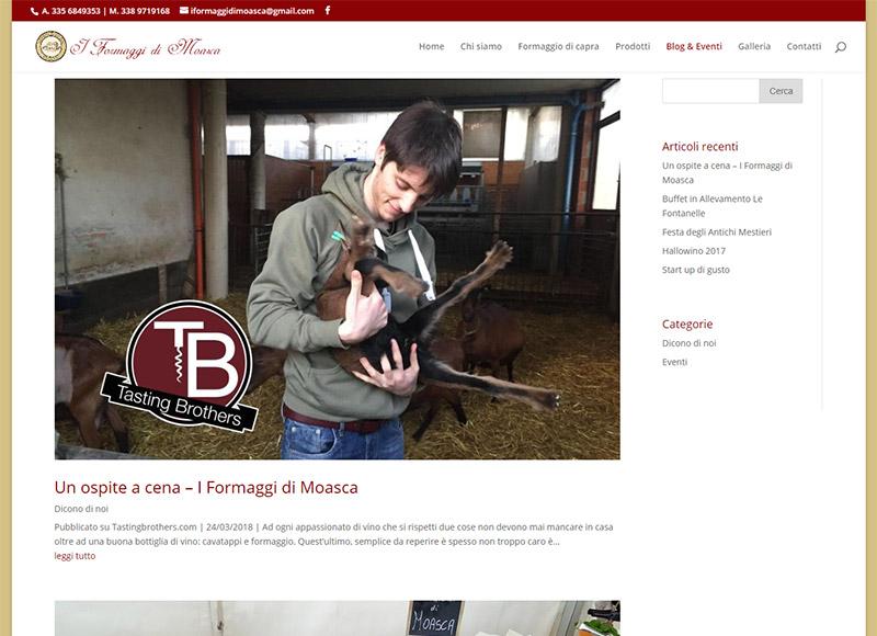 realizzazione sito web per azienda agricola