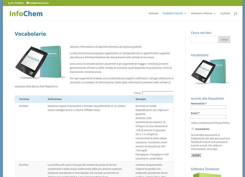 realizzazione sito web per azienda che fornisce programmi di informazione e formazione