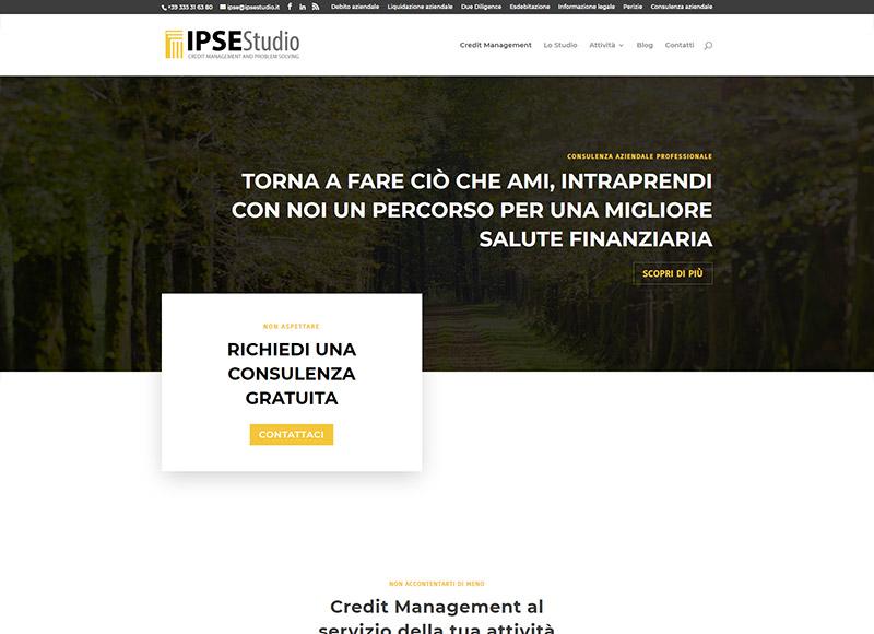 realizzazione sito web per studio specializzato nella consulenza aziendale