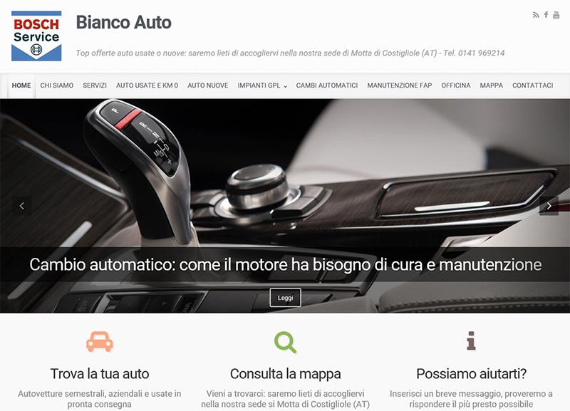 Realizzazione sito web per concessionaria auto