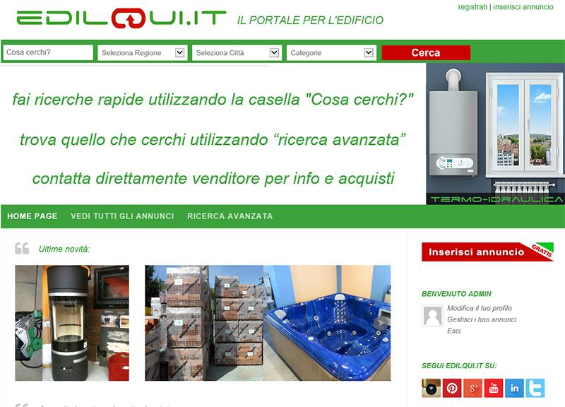 Edilqui.it - portale di annunci
