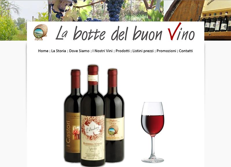 La botte del buon vino
