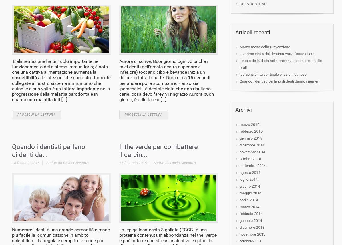 realizzazione sito web per studio dentistico