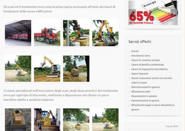 Realizzazione sito web per impresa di ristrutturazione