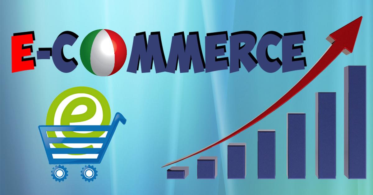 Boom di E-commerce: l'Italia cresce