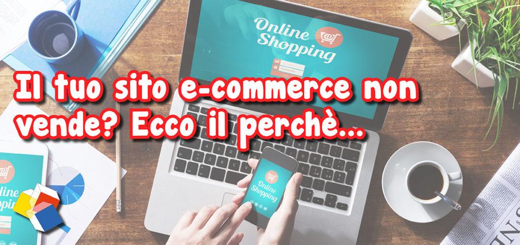 E-commerce non vende