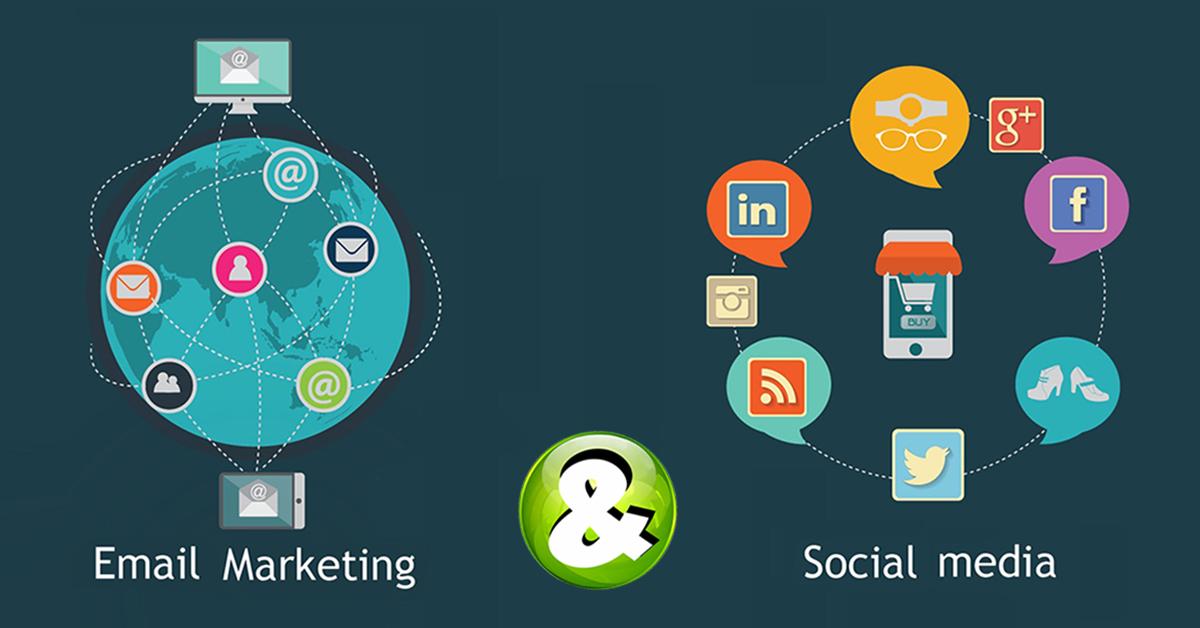 Email marketing e social media: successo assicurato!