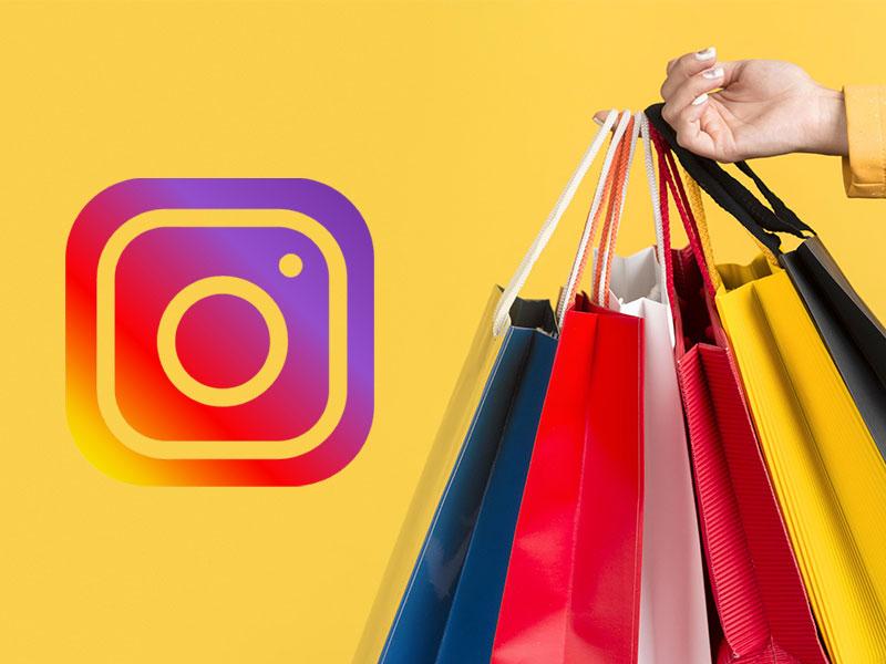 modalità shopping su instagram